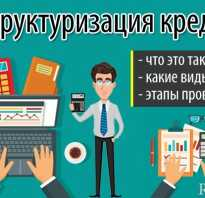 Как сделать реструктуризацию кредита