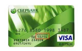 Длительность действия банковских карт