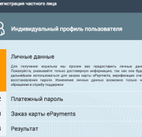 Epayments подробный обзор кошелька и карты